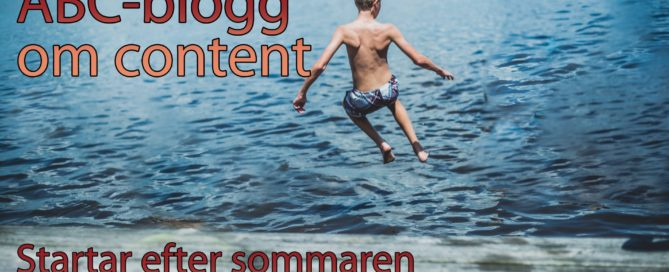 ABC-blogg om content marketing.